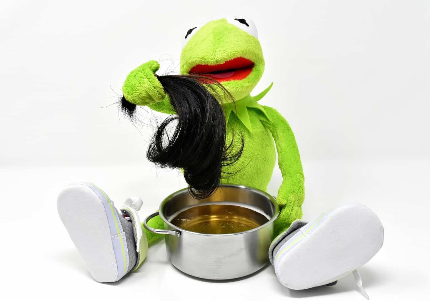 Hår i suppa